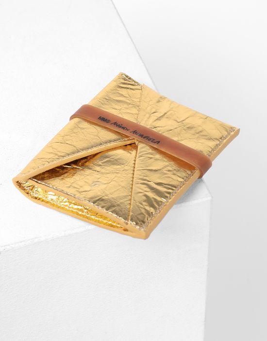 MM6 MAISON MARGIELA Japanese crinkled leather cardholder Key ring [*** pickupInStoreShipping_info ***] d