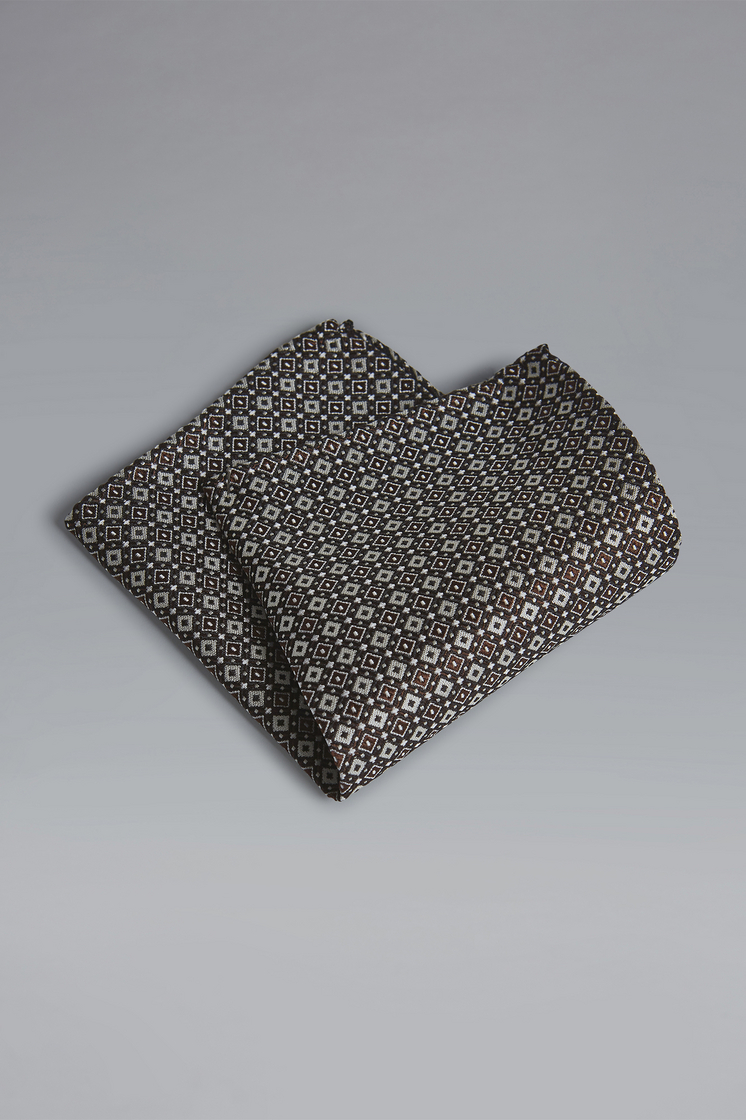 DSQUARED2 Silk & Woven Pochette Pocket square Man
