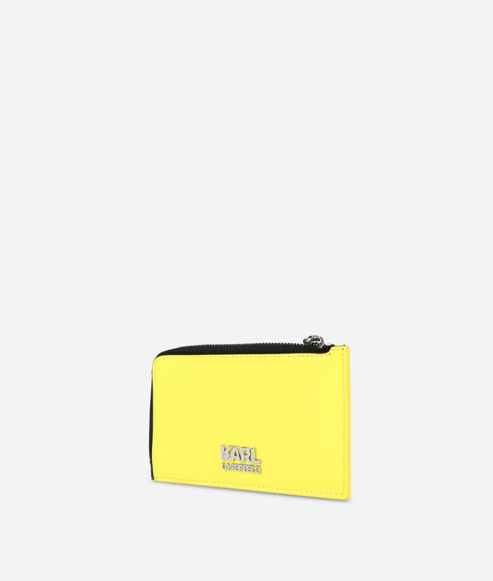 KARL LAGERFELD K/Neon カード ホルダー カードケース E d