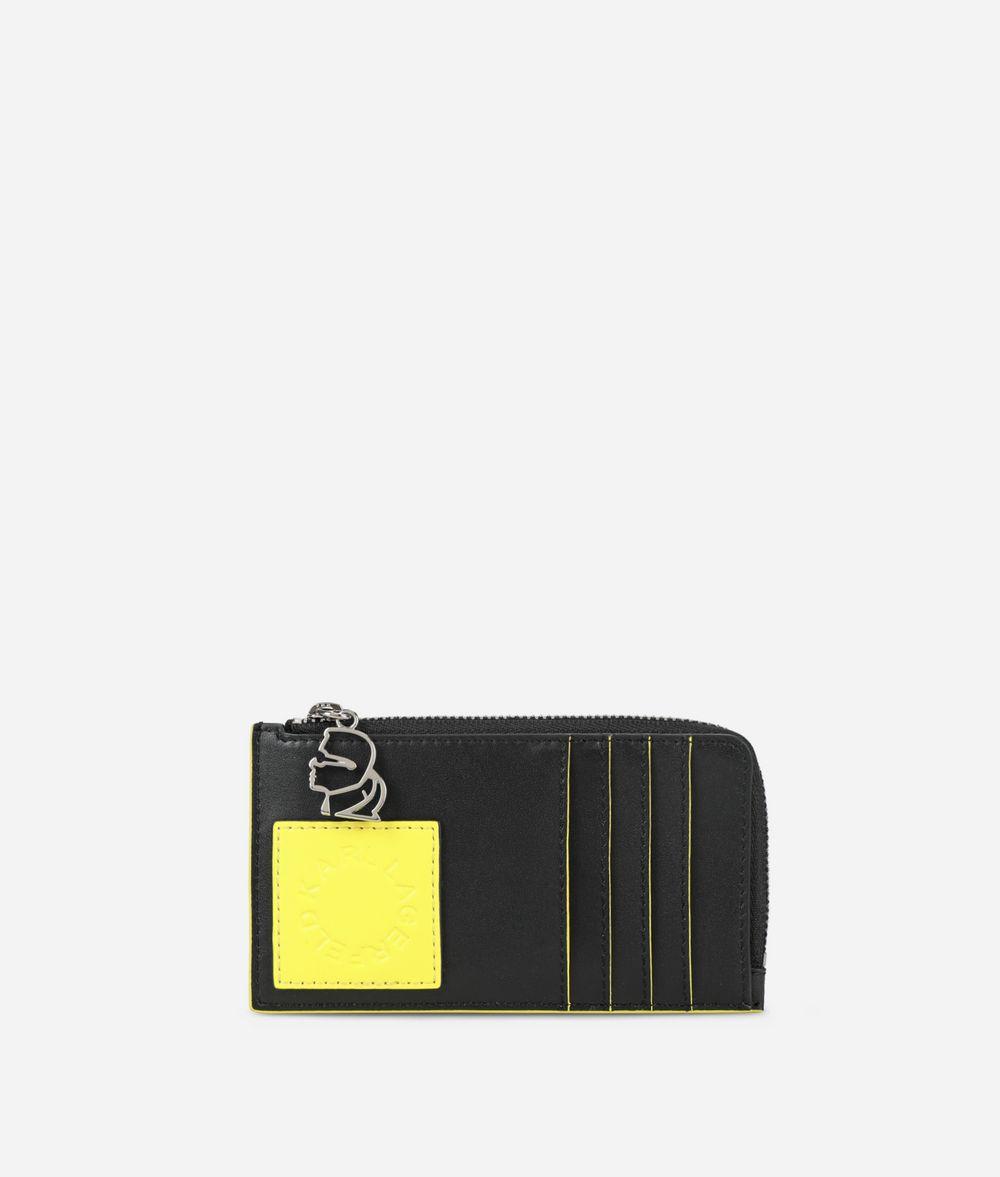 KARL LAGERFELD K/Neon カード ホルダー カードケース E f