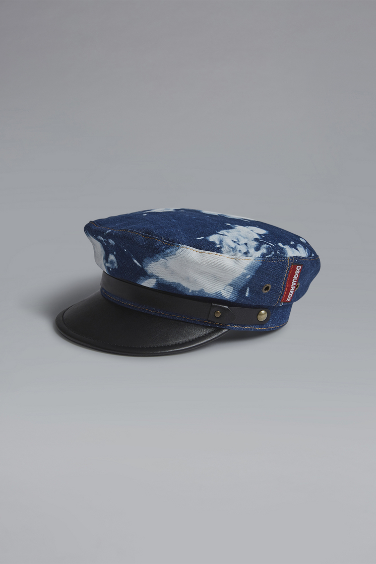 DSQUARED2 Military Punk Baker Boy Hat Hat Man