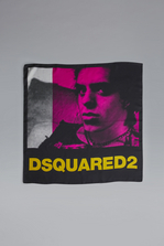 DSQUARED2 Acid Glam Punk Silk & Woven Foulard Foulard Woman