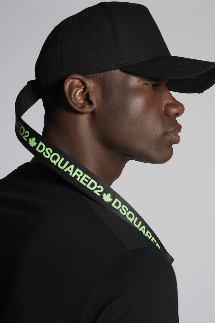 DSQUARED2 Acid Tape Baseball Cap Hat Man