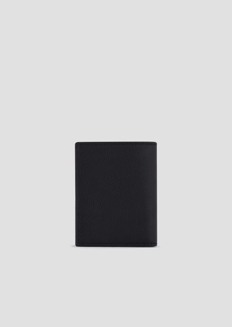 Leather portfolio wallet