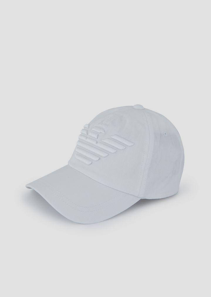 Cappello da baseball con maxi-logo ricamato  6a7e8aeaeac