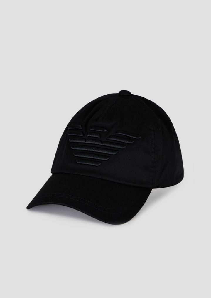 ced82edc62f55 Baseball cap with embroidered maxi logo