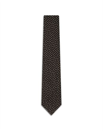 Brown Peacock Tie