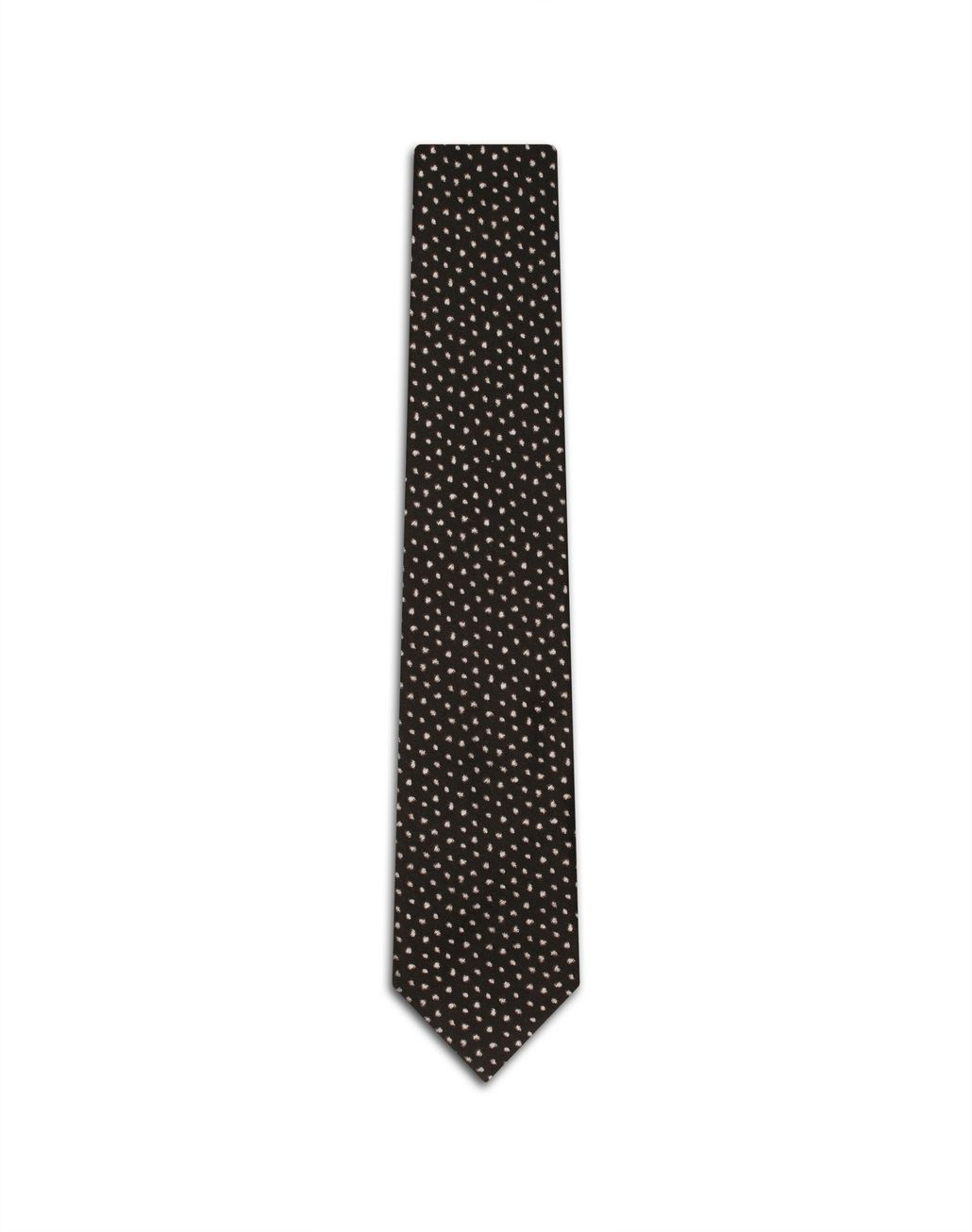 BRIONI Brown Peacock Tie Tie Man f