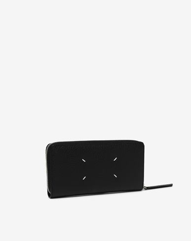 ACCESSORIES Zip-around long wallet Black