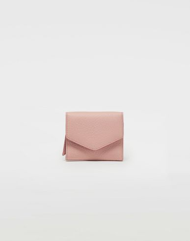 Small Leather Goods  Envelope leather wallet Pink