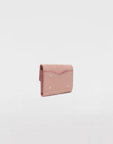 ACCESSORIES Envelope leather wallet Pink