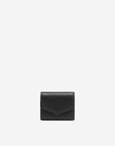 Envelope leather wallet