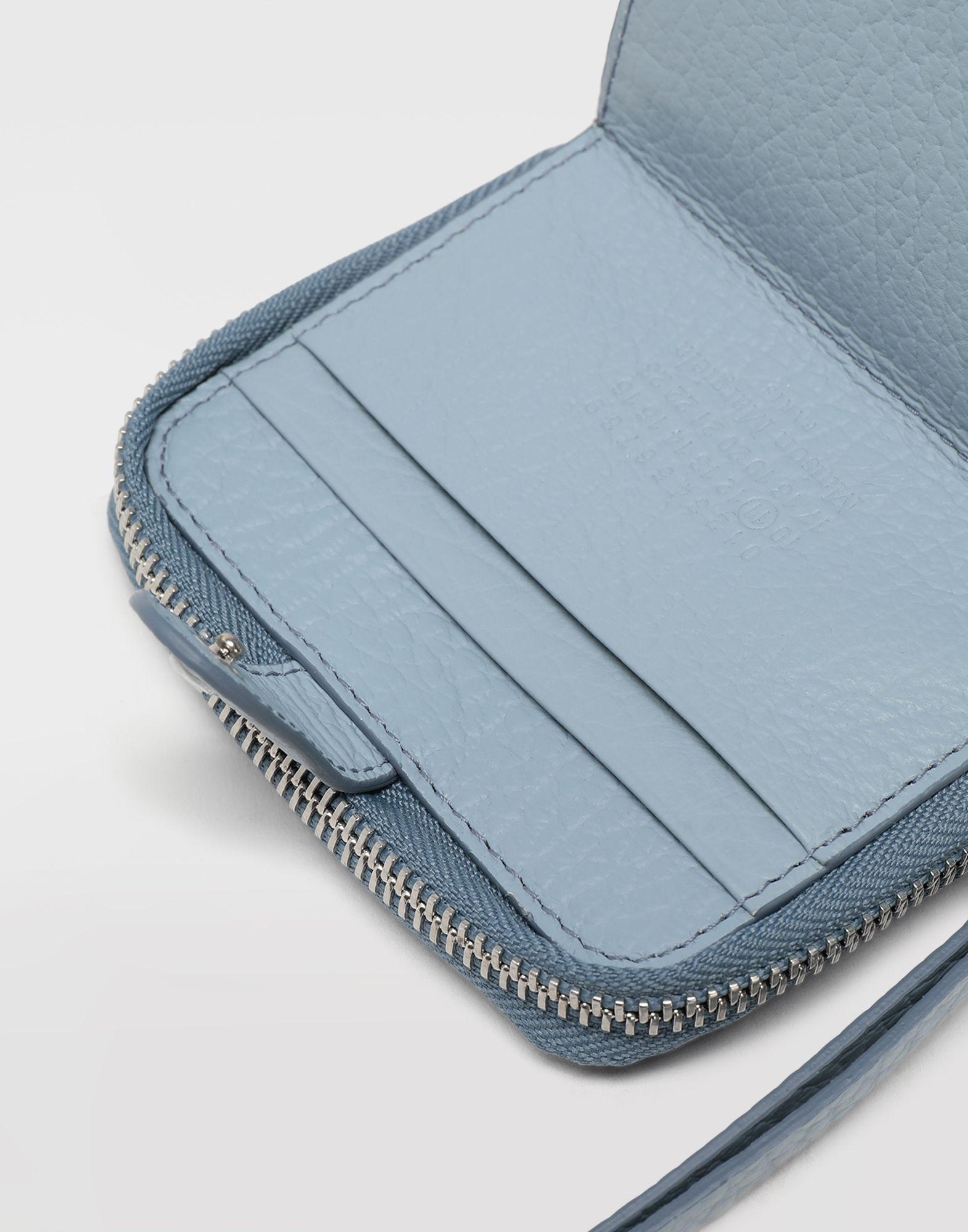 MAISON MARGIELA Leather zip-around wallet Wallets Woman a