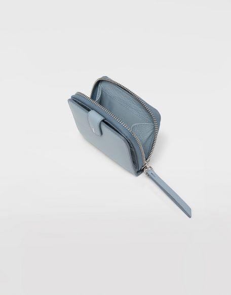 MAISON MARGIELA Leather zip-around wallet Wallets Woman d