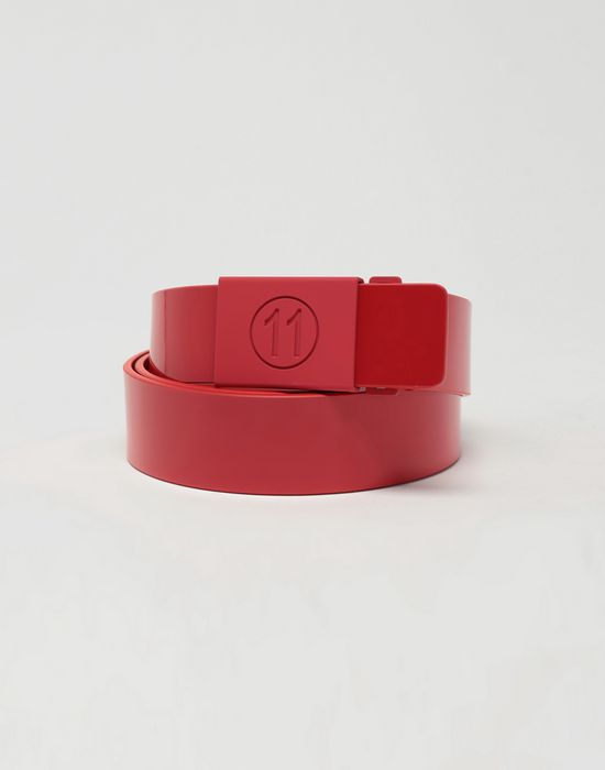 MAISON MARGIELA Buckled patent leather belt Belt [*** pickupInStoreShippingNotGuaranteed_info ***] f