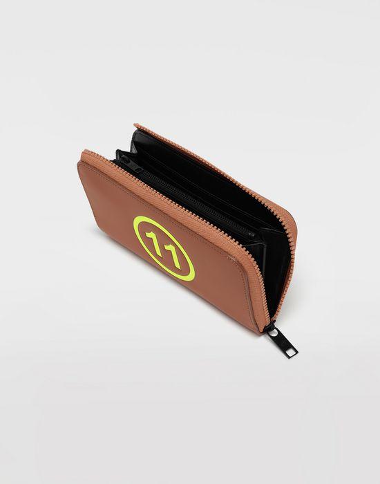 MAISON MARGIELA Logo-embossed leather wallet Wallet [*** pickupInStoreShippingNotGuaranteed_info ***] d