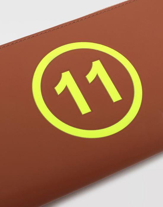 MAISON MARGIELA Logo-embossed leather wallet Wallet [*** pickupInStoreShippingNotGuaranteed_info ***] e