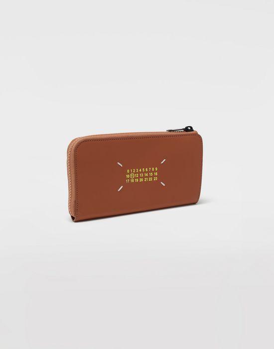 MAISON MARGIELA Logo-embossed leather wallet Wallet [*** pickupInStoreShippingNotGuaranteed_info ***] r