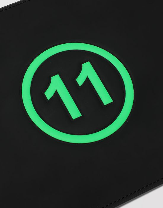 MAISON MARGIELA Logo-embossed leather clutch Wallets [*** pickupInStoreShippingNotGuaranteed_info ***] e