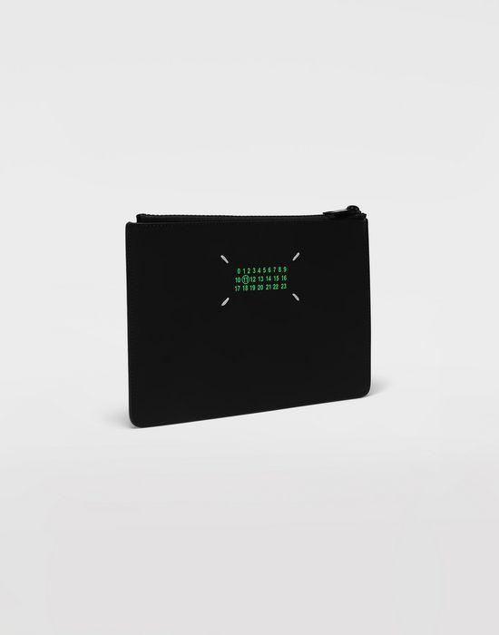MAISON MARGIELA Logo-embossed leather clutch Wallets [*** pickupInStoreShippingNotGuaranteed_info ***] r