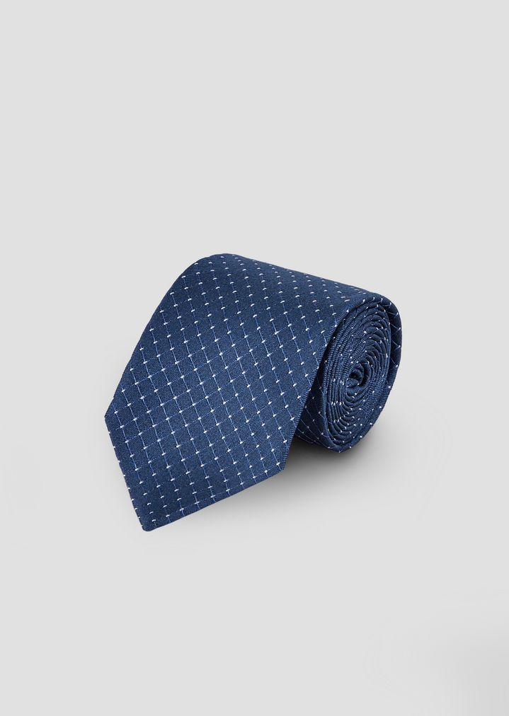 5e56c5ee3fb4 Silk tie with polka-dot motif   Man   Emporio Armani
