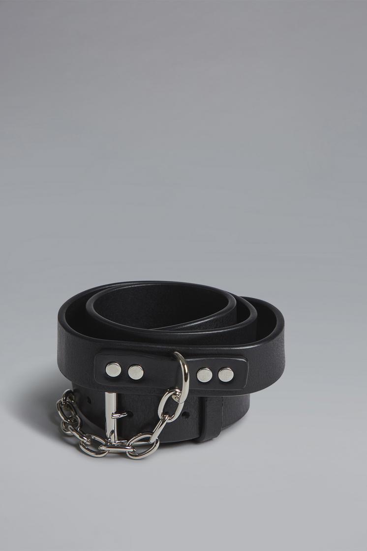 DSQUARED2 Disco Punk Chain Buckle Belt Belt Man