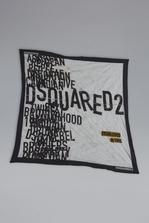DSQUARED2 Disco Punk Silk & Woven Foulard Foulard Man