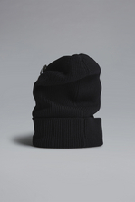 DSQUARED2 Military Punk Pins Knit Beanie Hat Man