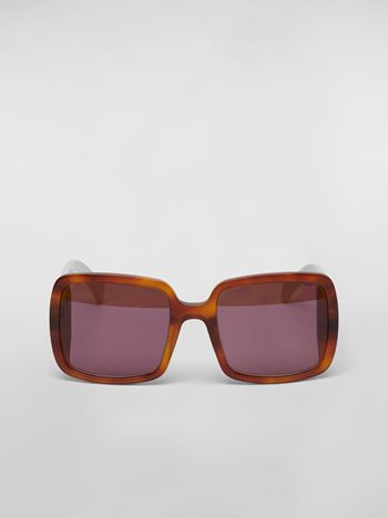 Marni MARNI WINDOW sunglasses in acetate Woman