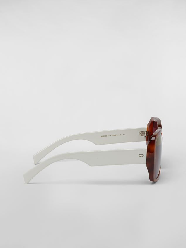 MARNI Eyewear Woman MARNI WINDOW sunglasses in acetate a