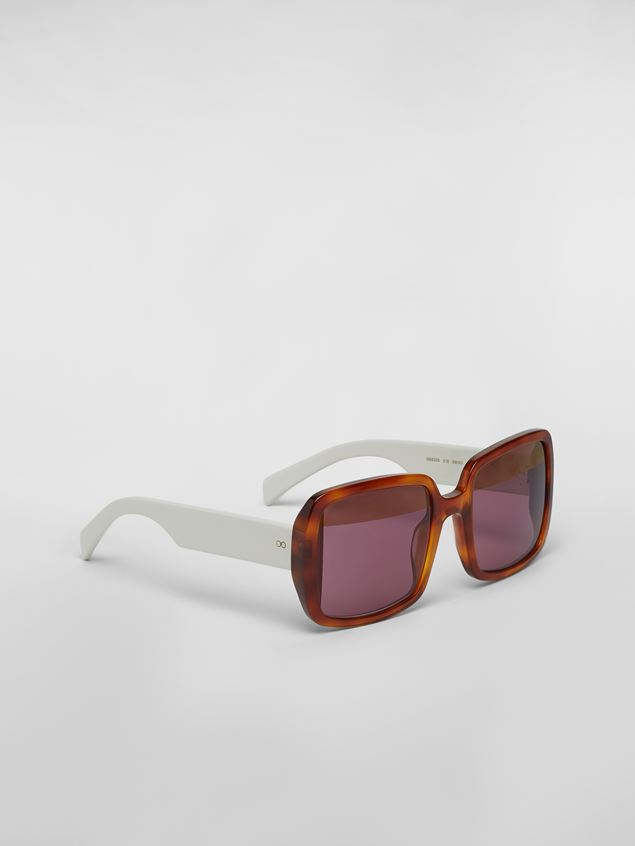 Marni MARNI WINDOW sunglasses in acetate Woman - 3