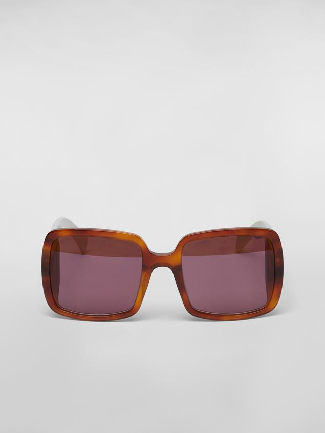 Marni MARNI WINDOW sunglasses in acetate Woman - 1