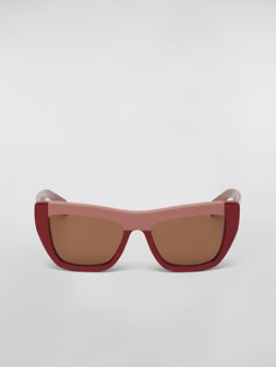 Marni MARNI COLOR BLOCK sunglasses in acetate Woman