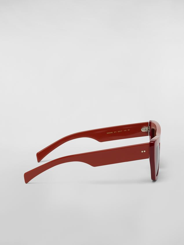 Marni MARNI COLOR BLOCK sunglasses in acetate Woman - 3