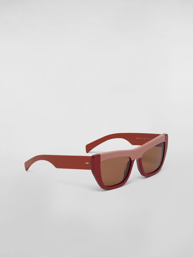 Marni MARNI COLOR BLOCK sunglasses in acetate Woman - 2