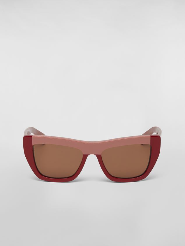 Marni MARNI COLOR BLOCK sunglasses in acetate Woman - 1
