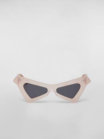 Marni MARNI SPY sunglasses in acetate white Woman f