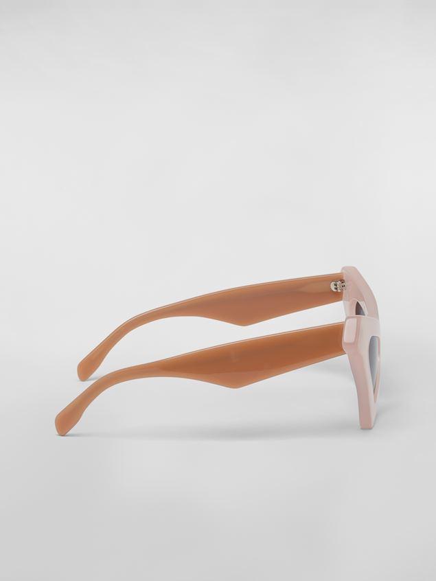 Marni MARNI SPY sunglasses in acetate white Woman - 4