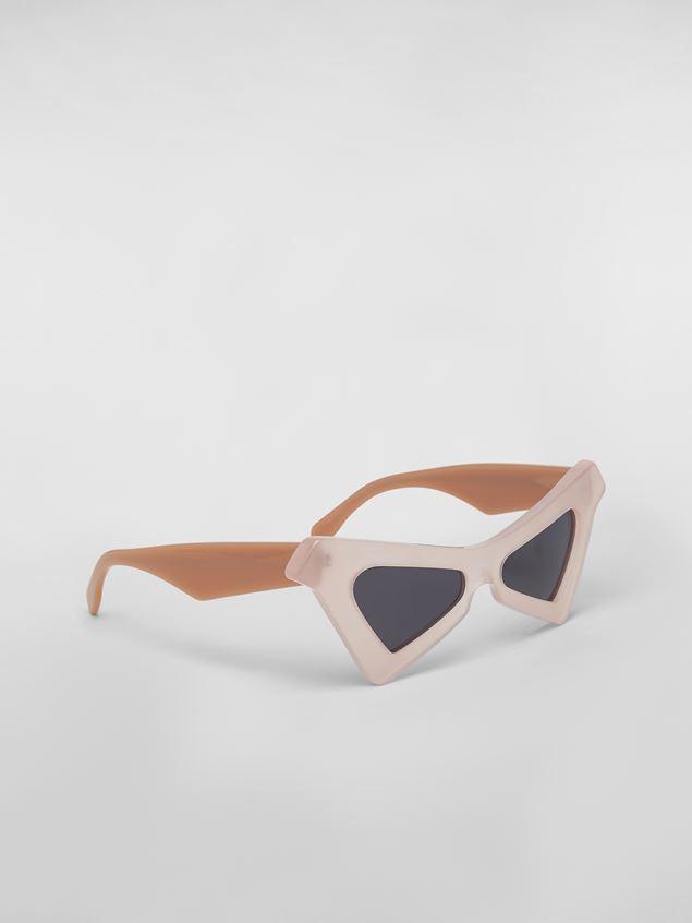 Marni MARNI SPY sunglasses in acetate white Woman - 3