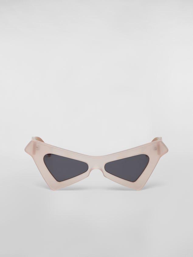 Marni MARNI SPY sunglasses in acetate white Woman - 1