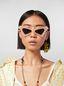 Marni MARNI SPY sunglasses in acetate white Woman - 2