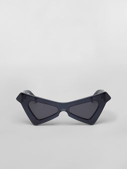 Marni MARNI SPY sunglasses in acetate blue Woman