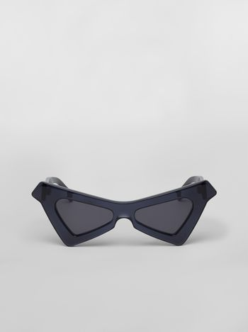 Marni MARNI SPY sunglasses in acetate blue Woman f