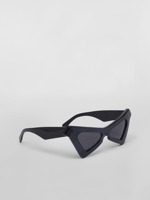 Marni Sonnenbrille MARNI SPY aus Azetat in Blau Damen - 3