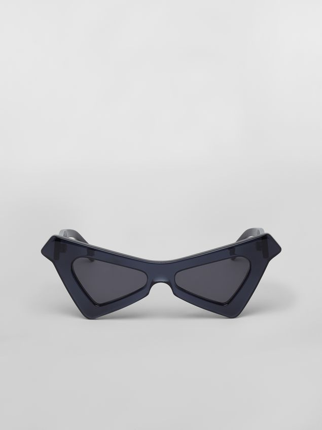 Marni Sonnenbrille MARNI SPY aus Azetat in Blau Damen - 1