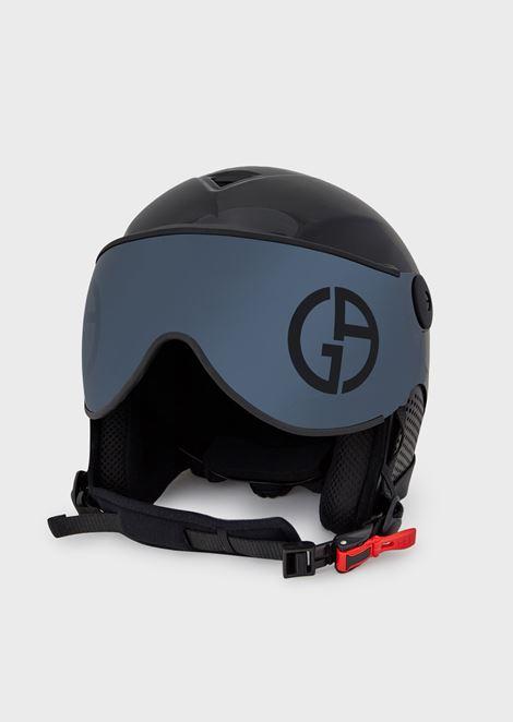 Casco da sci con visiera