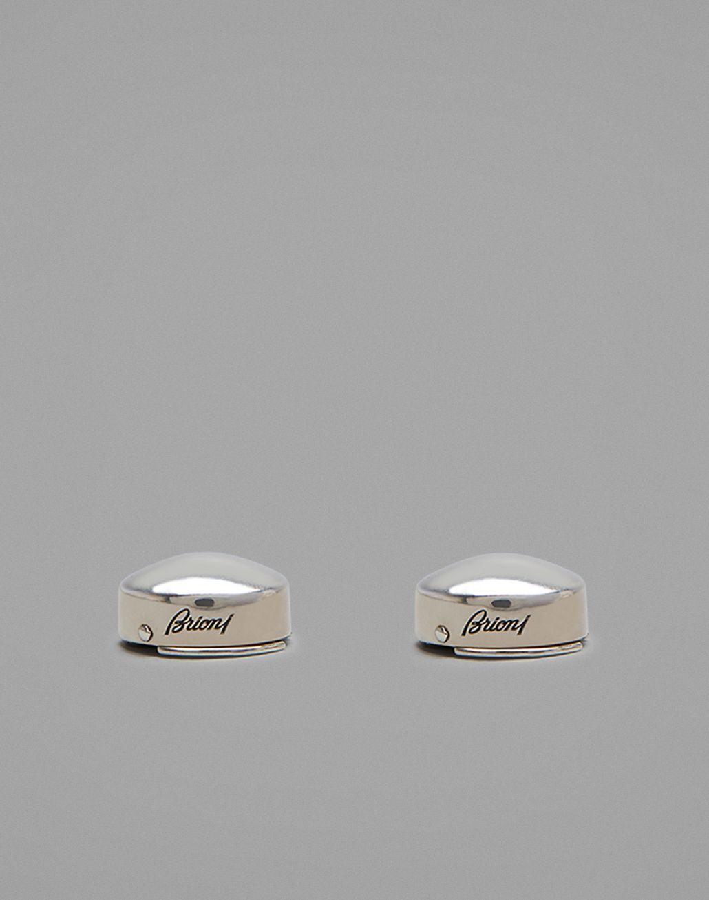 BRIONI Couvre-boutons argentés  Bijou [*** pickupInStoreShippingNotGuaranteed_info ***] r