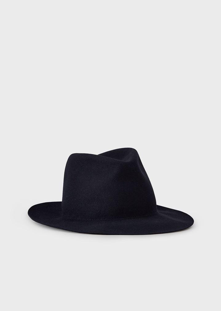 Cappello fedora in coniglio  be260ae5324e