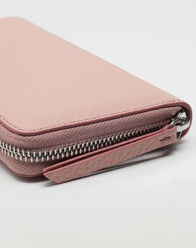 ACCESSORIES Zip-around long wallet Light pink