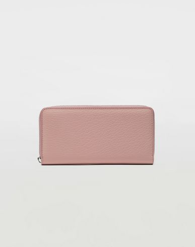Small Leather Goods Zip-around long wallet Light pink